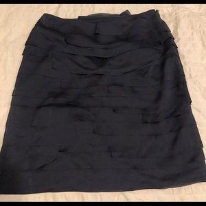 Banana Republic Pencil Skirt - Navy Blue, Size 8